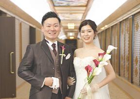 結婚式当日の流れ実例
