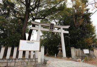 参道の両側に、神戸市が第一号に指定した市民の森が。喧噪から離れて心洗われる空間。